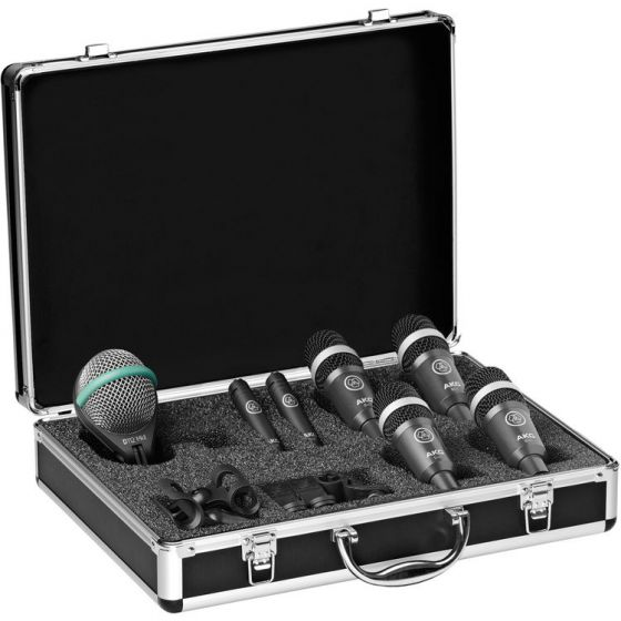 AKG Drum Set Concert I Professional Drum Microphone Set 2581H00160