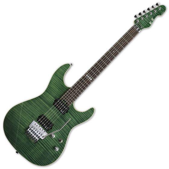 ESP E-II ST-2 FM RW EGR Emerald Green Finish Electric Guitar sku number EIIST2FMRWEGR