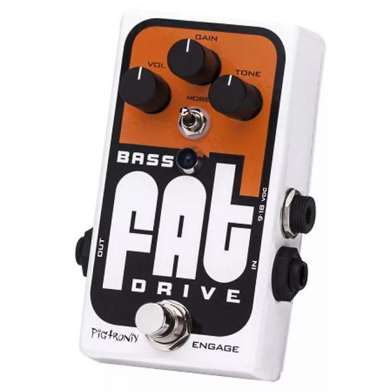 Pigtronix Bass Fat Analog Tube Emulator & Overdrive Pedal BOD