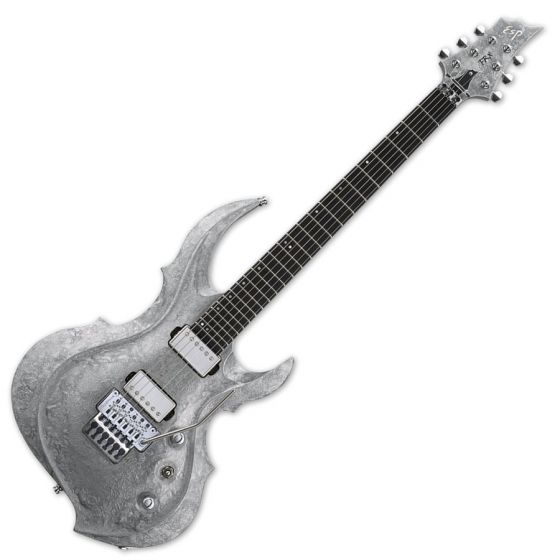 ESP FRX Original Series Electric Guitar in Liquid Metal Silver sku number EFRXLMS