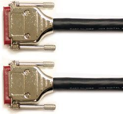 Mogami Gold AES DB25-DB25 Cable 20 ft. GOLD AES DB25-DB25-20