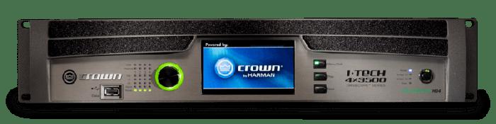 Crown Audio I-Tech 4x3500HD Four-channel 4000W Power Amplifier G4X3500HDS-U-US