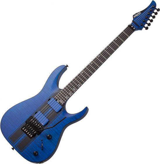 Schecter Banshee GT FR Electric Guitar Satin Trans Blue SCHECTER1520