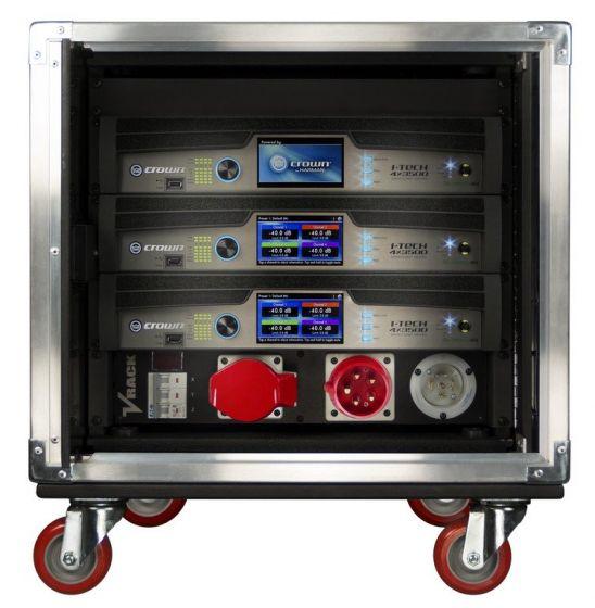 Crown Audio Vrack 4x3500HD Empty Amplifier Rack GVRACK4X3500HD