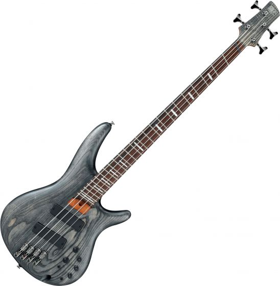 Ibanez SR Bass Workshop SRFF800 Multi Scale Electric Bass Black Stained SRFF800BKS