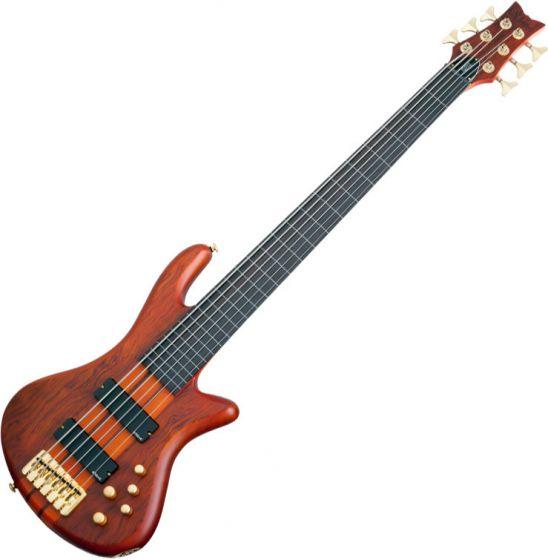 Schecter Stiletto Studio-6 FL Electric Bass Honey Satin sku number SCHECTER2791