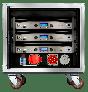 Crown Audio Vrack 1200HD Loaded Amplifier Rack GIT12HDVRACK