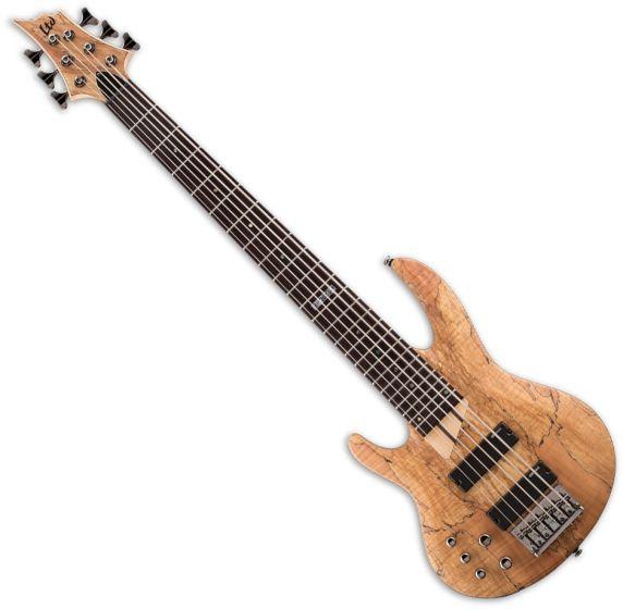 ESP LTD B-206SM Left-Handed Electric Bass in Natural Satin LB206SMNSLH