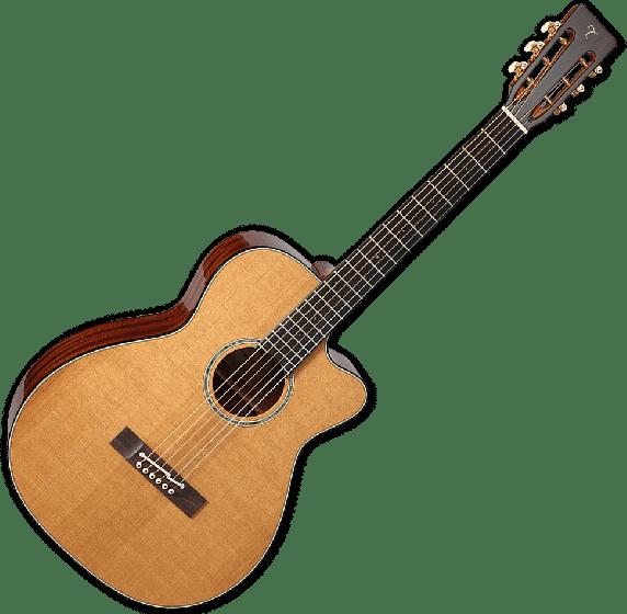 Takamine EF740FSTT Thermal Top Acoustic Guitar in Natural Finish TAKEF740FSTT