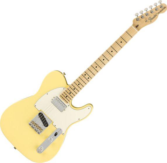 Fender American Performer Telecaster Hum Electric Guitar in Vintage White 0115122341