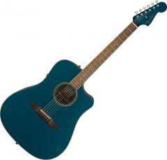 Fender Redondo Classic Acoustic Guitar Cosmic Turquoise 0970913299