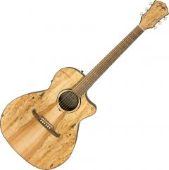 Fender 2019 Limited Edition FA-345CE Auditorium Spalted Maple Top Acoustic Guitar Natural 0971343094