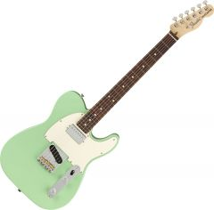 Fender American Performer Telecaster Hum Electric Guitar Satin Surf Green 0115120357