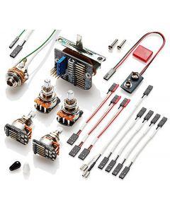 EMG 3 Pickup Conversion Wiring Kit Solderless 3251