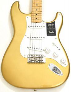 Fender American Original 50s Stratocaster Electric Guitar Aztec Gold 0110112878