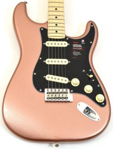 Fender American Performer Stratocaster Electric Guitar Penny 0114912384