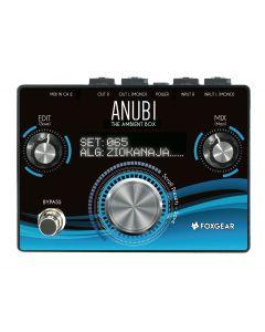 FoxGear Anubi Ambient Box Reverb Delay Chorus Multi-Effects Pedal FOX-ANUBI-AMBIENT