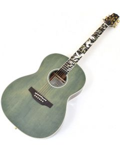 Takamine LTD2020 Peace Acoustic Electric Guitar Green Tea Gloss TAKLTD2020PEACE
