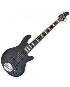 Lakland Skyline Series 55-02 Custom 5 String Electric Bass Black Sparkle S55-02D Custom BLK