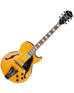 Ibanez George Benson GB10EM Signature Hollow Body Electric Guitar Antique Amber sku number GB10EMAA