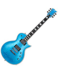 ESP Eclipse Custom Electric Guitar Blue Liquid Metal EECCTMBLM