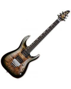 ESP Horizon FR CTM Electric Guitar See Thru Black Burst EHORCTMFRBMSTBLKFD