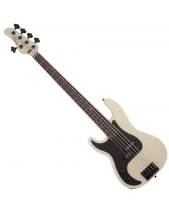 Schecter P-5 Left Hand Electric Bass in Ivory sku number SCHECTER2925