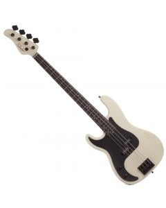Schecter P-4 Left Hand Electric Bass in Ivory SCHECTER2924