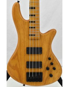 Schecter Session Stiletto-4 Electric Bass Aged Natural Satin B-Stock sku number SCHECTER2850.B