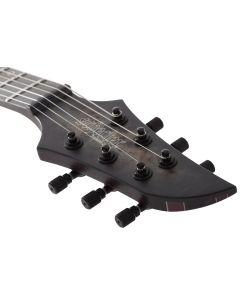Schecter MK-6 MK-III Keith Merrow Electric Guitar in Trans Black Burst B-Stock sku number SCHECTER827.B