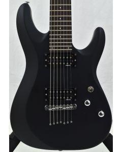 Schecter C-7 Deluxe Electric Guitar Satin Black B-Stock SCHECTER437.B