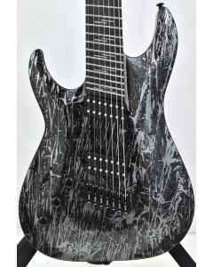 Schecter C-7 Multiscale Silver Mountain Left Handed Electric Guitar B-Stock 1056 sku number SCHECTER1467.B 1056