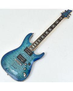 Schecter Omen Extreme-6 Electric Guitar Ocean Blue Burst B-Stock 0304 SCHECTER2015.B 0304