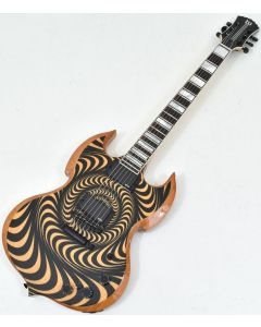 Wylde Audio Barbarian RawTop Electric Guitar Psychic Bullseye B-Stock 0051 WYLDE4525.B 0051