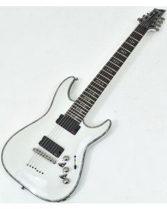 Schecter Hellraiser C-7 Electric Guitar Gloss White B-Stock 1495 sku number SCHECTER1810.B 1495