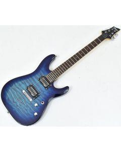 Schecter C-6 Plus Electric Guitar Ocean Blue Burst B-Stock 0718 SCHECTER443.B 0718