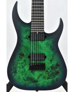 Schecter KM-7 MK-III Keith Merrow Standard Electric Guitar Toxic Smoke Green B-Stock 2511 SCHECTER831.B 2511