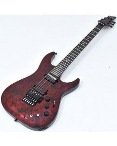 Schecter C-1 FR-S Apocalypse Electric Guitar Red Reign B-Stock 1245 sku number SCHECTER3057.B 1245