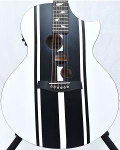 Schecter DJ Ashba Signature Acoustic Electric Guitar Satin White B-Stock 3641 SCHECTER3718.B 3641