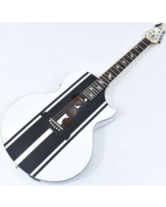 Schecter DJ Ashba Signature Acoustic Electric Guitar Satin White B-Stock 3652 SCHECTER3718.B 3652