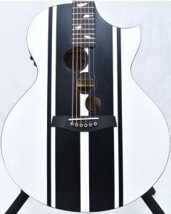Schecter DJ Ashba Signature Acoustic Electric Guitar Satin White B-Stock 3652 sku number SCHECTER3718.B 3652