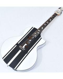 Schecter DJ Ashba Signature Acoustic Electric Guitar Satin White B-Stock 3624 sku number SCHECTER3718.B 3624