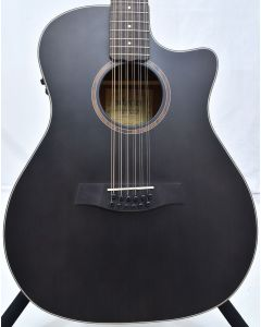 Schecter Orleans Studio-12 Acoustic Guitar Satin See Thru Black B-Stock 9324 SCHECTER3714.B 9324