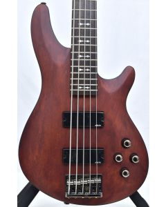 Schecter Omen-5 Electric Bass Walnut Satin B-Stock 1159 sku number SCHECTER2094.B 1159