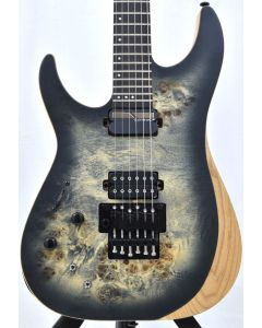 Schecter Reaper-6 FR-S Left Handed Electric Guitar Satin Charcoal Burst B-Stock 1852 sku number SCHECTER1514.B 1852