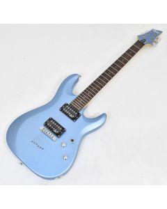 Schecter C-6 Deluxe Electric Guitar Satin Metallic Light Blue B Stock 0455 sku number SCHECTER431.B 0455