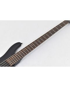Schecter Stiletto Stealth-5 Electric Bass Satin Black B-Stock 1901 sku number SCHECTER2523.B 1901