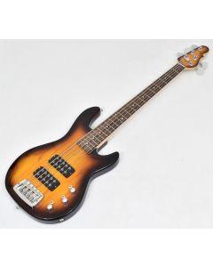 G&L Tribute L-2500 Bass Guitar in Tobacco Sunburst Finish B Stock 8065 sku number TI-L25-RW-TSB.B 8065