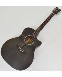 Schecter Deluxe Acoustic Guitar Satin See Thru Black B-Stock 4659 sku number SCHECTER3716.B 4659
