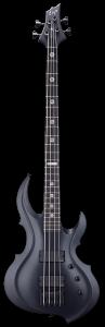 ESP Tom Araya FRX Black Satin Bass w/Case ETARAYAFRXBLKS